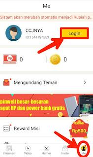 Login Berita Saku Untuk mendaftar aplikasi Berita Saku