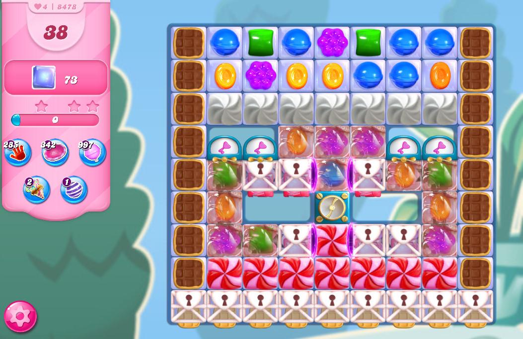 Candy Crush Saga level 8478