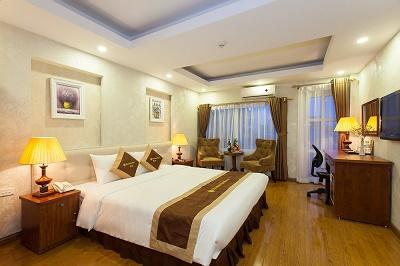Khách sạn Hanoi Diamond King thiết kế ấm cúng, trang nhã và hiện đại IMG_7759