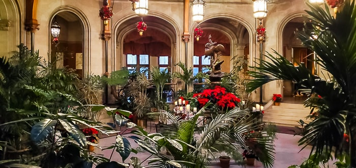 the Winter Garden at Biltmore