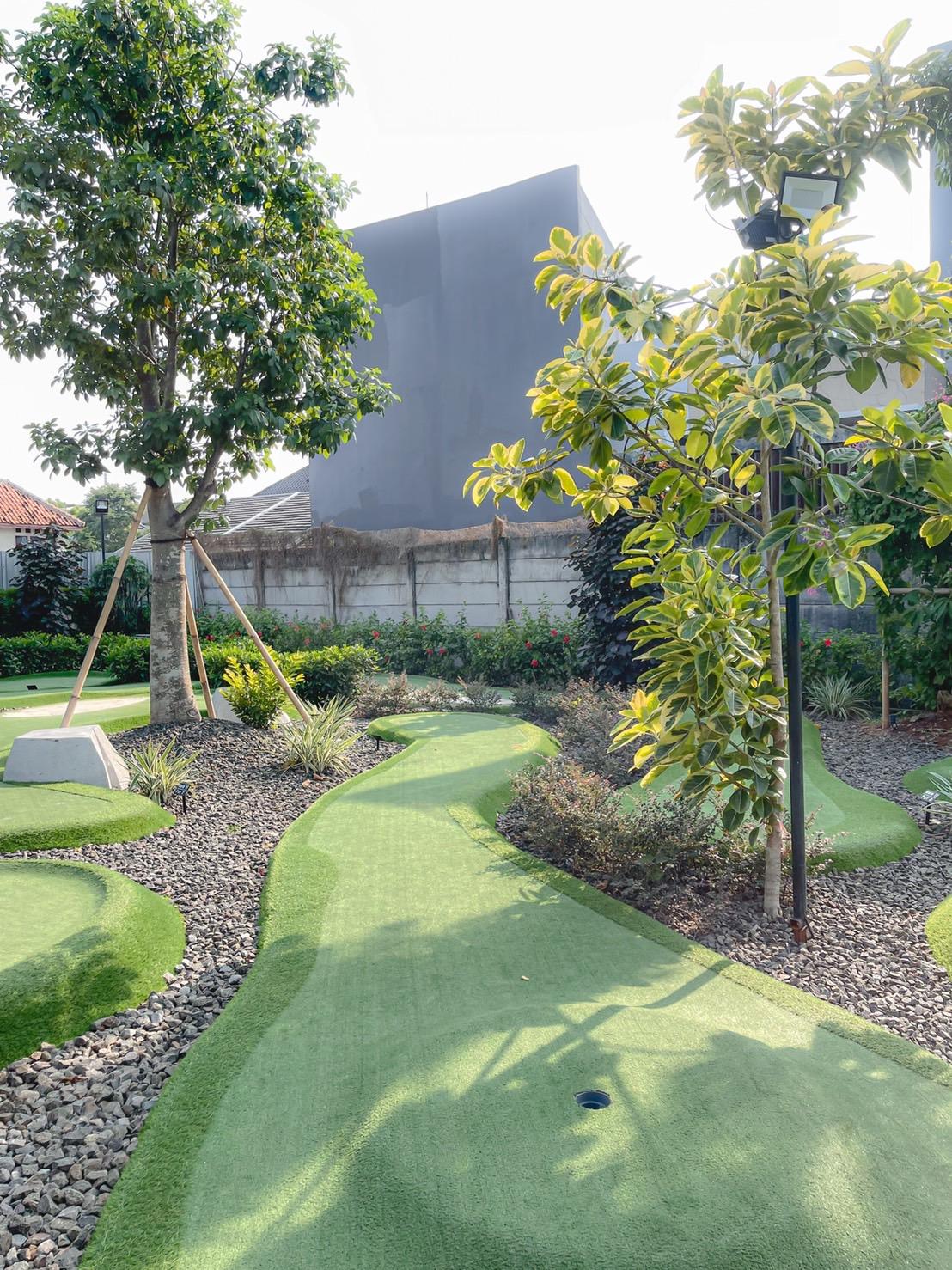 mini golf kolepa bintaro - akuchichie