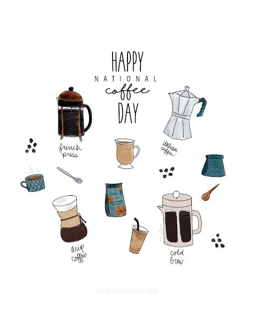 25 Sweetpeas National Coffee Day