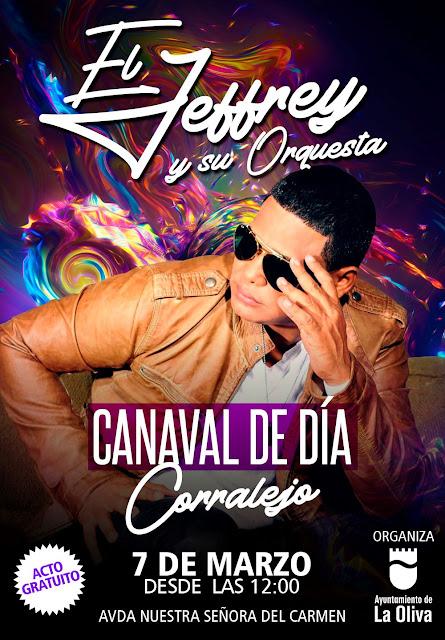 CARNAVAL%2BJEFREY - Fuerteventura.- Carnaval de La Oliva contará con El Jeffrey en el Carnaval de Día de Corralejo, y con  antiguas dinamizadoras culturales como pregoneras