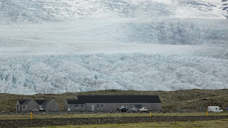 Glaciers in Iceland in Summer