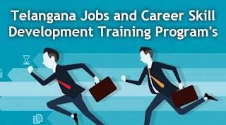 Telangana Jobs and Career Skill Development Training Programs