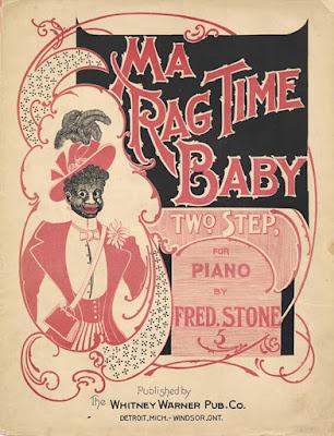 Παλιά αφίσα ράγκταϊμ / Vintage ragtime poster
