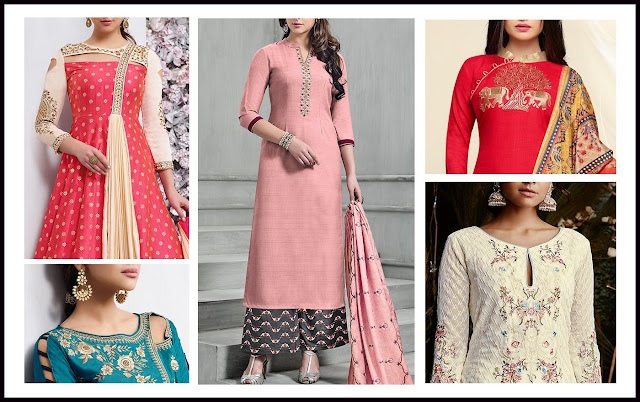 8 Types Of Salwar Suit Design- Be A Trendsetter!