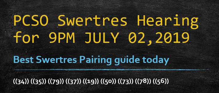 Swertres Hearing: July 2019