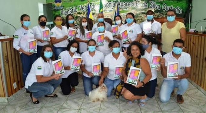 Prefeitura troca tablets dos Agentes Comunitários de Saúde por modelo mais potente