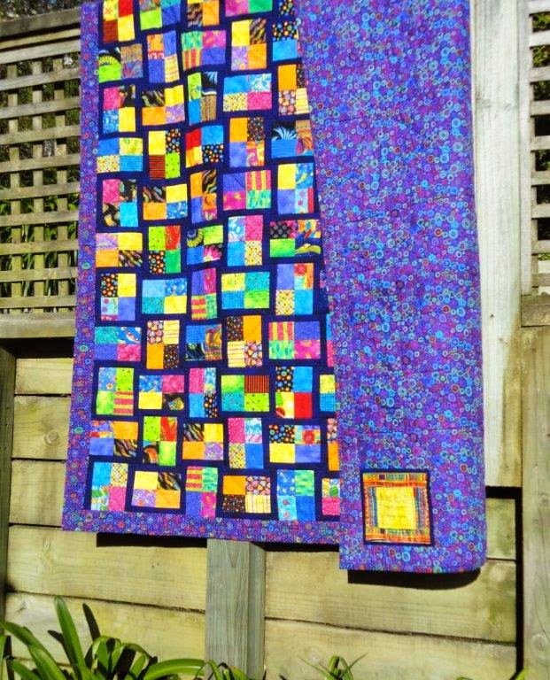 Wendy S Quilts And More Sparkling Gemstones Jelly Roll Quilt