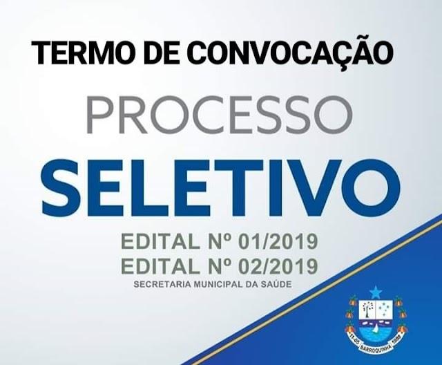 Prefeitura de Barroquinha convoca os aprovados no Seletivo