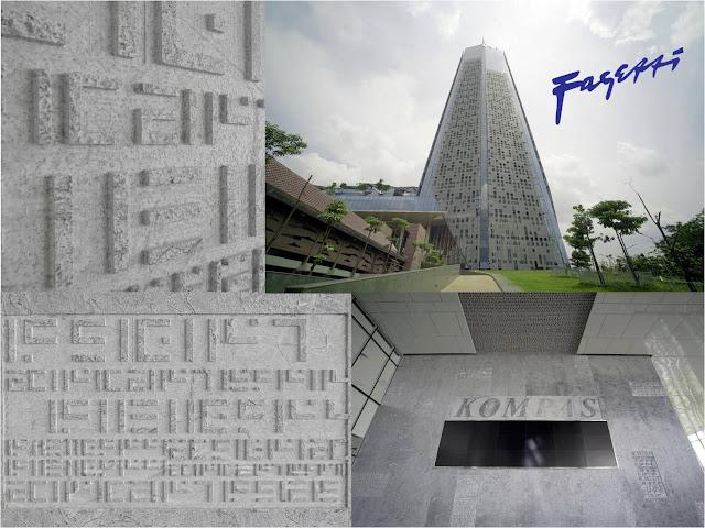 Granit Menara Kompas Jakarta