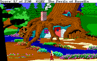 Videojuego King's Quest IV The Perils of Rosella