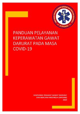 Cover Panduan Pelayanan Keperawatan Gawat Darurat pada Masa COVID 19