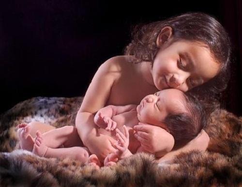 child eternal love