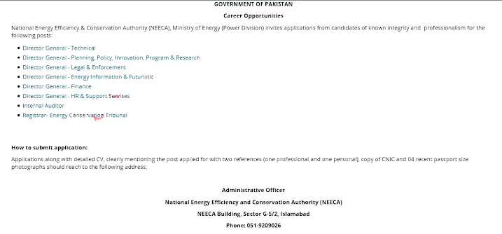Latest Jobs in Ministry of Science And Technology Ministry  of Energy 2021