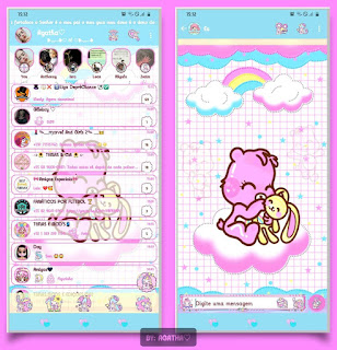 Teddy Bear Theme For YOWhatsApp & KM WhatsApp By Agatha