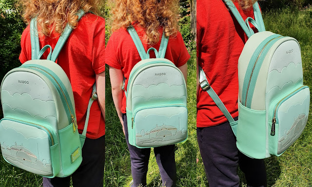 Naboo school back pack on 11 year old boy's back