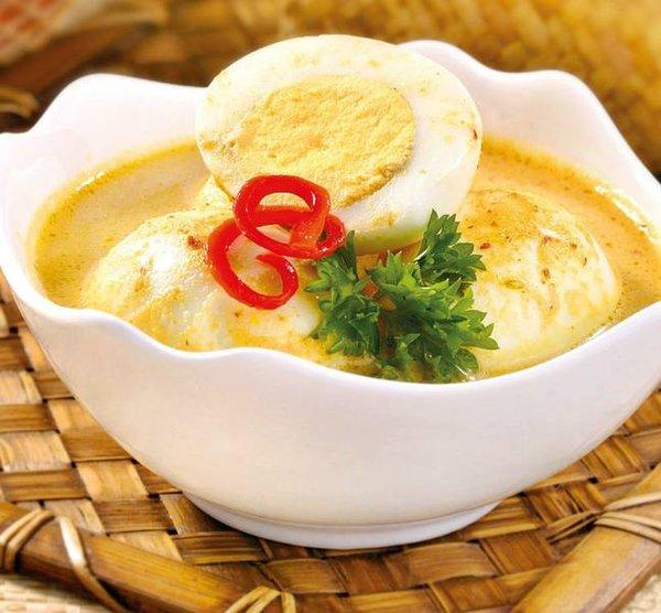 Cara Membuat Resep Gulai Telur Yang Enak
