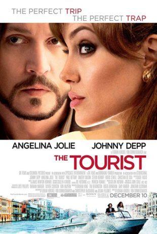 The Tourist 2010 BRRip 720p Dual Audio in Hindi English
