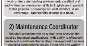 JOB @ QATAR: procurement officer job in qatar