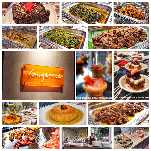 RAMADAN BUFFET FEAST di TANGERINE RESTAURANT, THE PALACE HOTEL