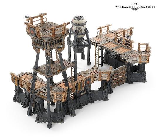 Necromunda Gang Fortress