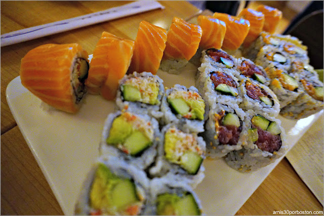 Café Sushi en Cambridge, Massachusetts