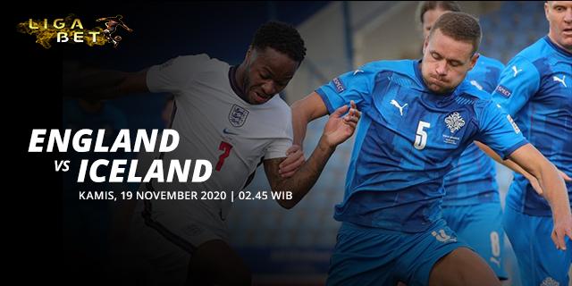PREDIKSI PARLAY ENGLAND VS ICELAND KAMIS 19 NOVEMBER 2020