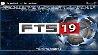 FTS 19 MOD APK UCL UEFA CHAMPIONS LEAGUE Edition For Android