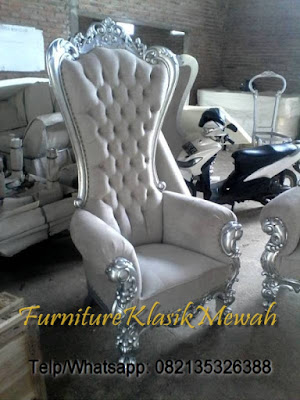 CLASSIC WHITE CHAIR-PRINCESS CLASSIC CHAIR-CLASSIC FRENCH FOR HOME LIVING