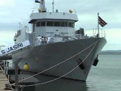 The Kenyan warship KNS Jasiri