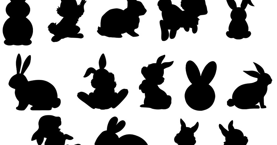 Download digitalfil: Rabbit svg,cut files,silhouette clipart,vinyl ...