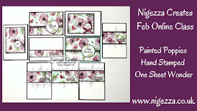 Nigezza Creates with Stampin' Up! Painted Poppies OSW