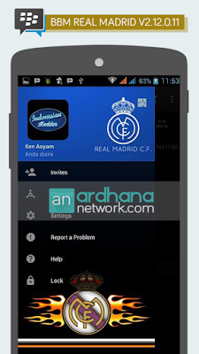 BBM MOD Real Madrid V2.12.0.11 Apk Terbaru 2016