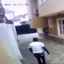 Watch video:CCTV footage shows moment a thief jump fence to steal at a home in Magodo Phase 2