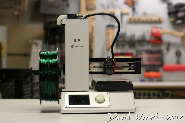 monoprice select mini 3d printer, best beginner 3d printer