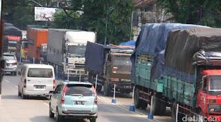Pekan depan Libur Panjang,  Operasional Angkutan Barang Akan Dibatasi