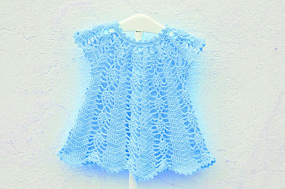 Vestido rosa a crochet y ganchillo Majovel Crochet 7
