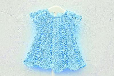 Vestido rosa a crochet y ganchillo Majovel Crochet 7