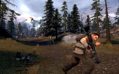 تحميل افضل لعبة للكنبيوتر لعبة اكثر من الخيال جربها  Half Life 2