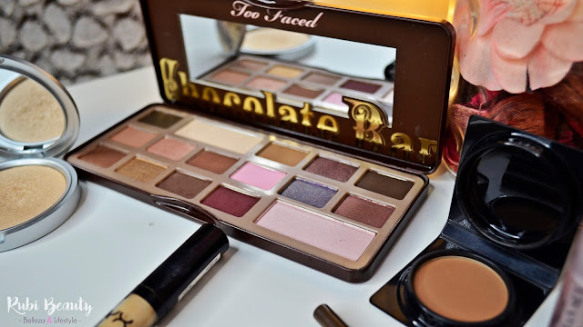 favoritos maquillaje 2016 rubibeauty chocolate bar too faced