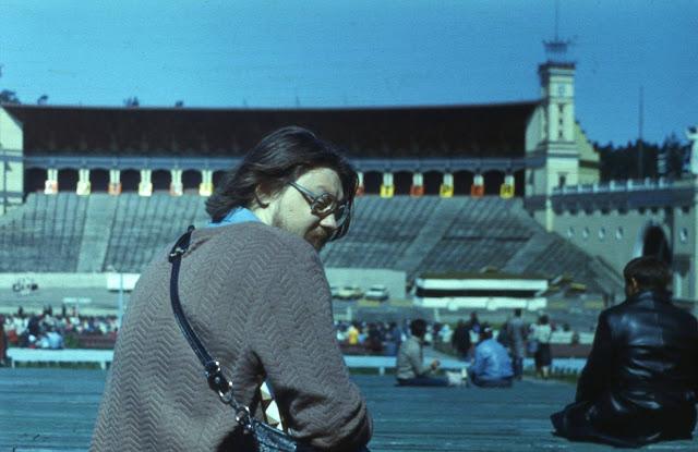 1986-87-й годы. Рига. Межапарк. На Большой эстраде