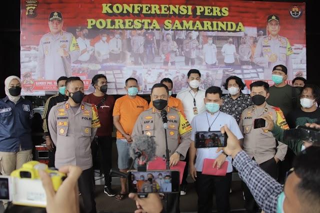 Satresnarkoba Polresta Samarinda Ungkap Peredaran Sabu