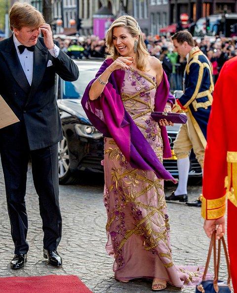 Newmyroyals & Hollywood Fashion: Festive Dinner To King