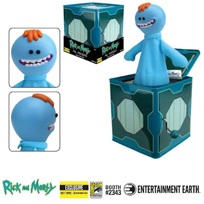 San Diego Comic-Con 2019 Exclusive Rick and Morty Mr. Meeseeks Jack-in-the-Box by Entertainment Earth