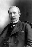 A photo of John D. Rockefeller.