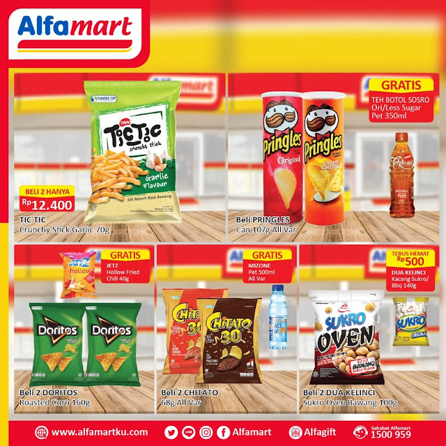 #Alfamart - #Promo Camilan Hemat Periode 01 - 15 Agustus 2019