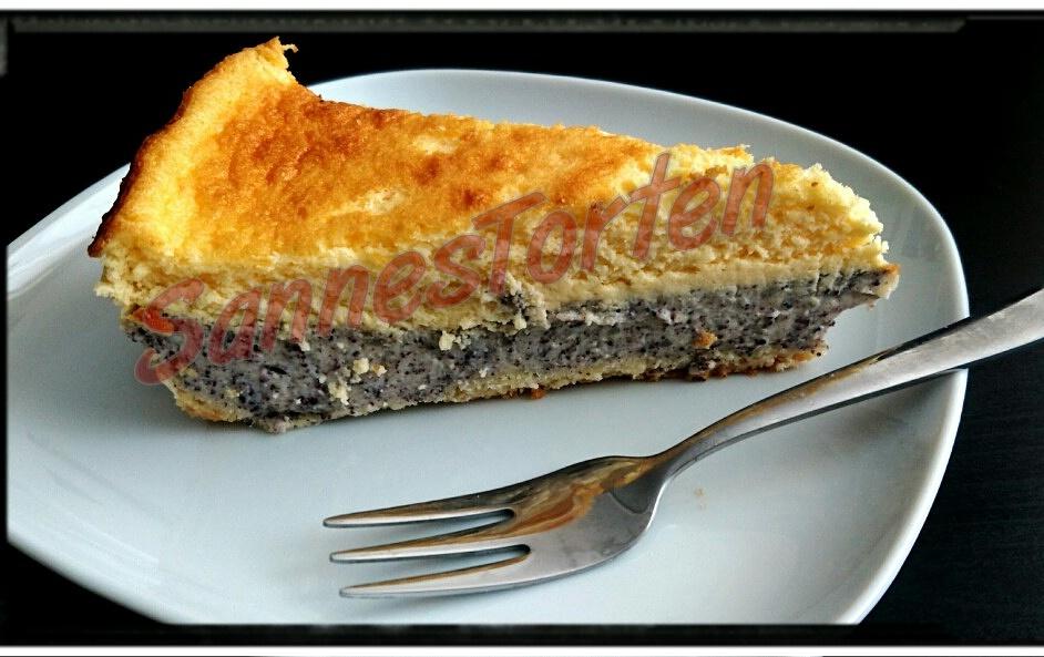 Sannestorten Mohn Schmand Kuchen