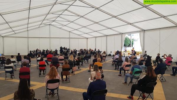La Banda Municipal de Música estrena la nueva carpa de Los Llanos de Aridane